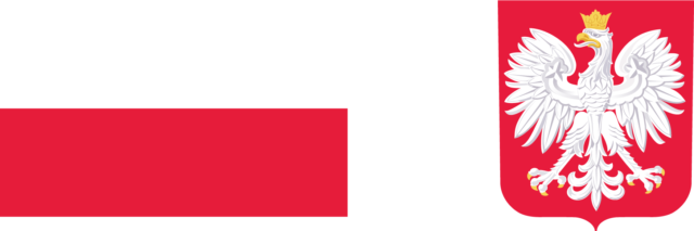 Na obrazku znajduje się flaga igodło Polski