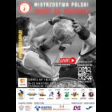 Plakat 1 turnieju MP 2021 - Rzeszów