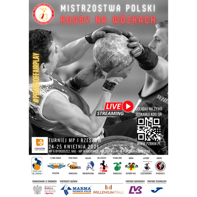 ITurniej oMistrzostwo Polski wrugby nawózkach