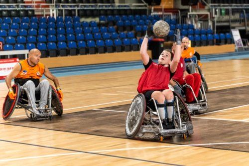 Rugby naWózkach 5's / Wheelchair Rugby 5's